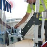 Uplifter | Glasmontagegerät Racelift 2.0 Einsatz
