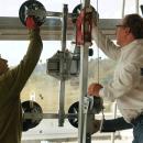 Unkompliziertes Arbeiten mit dem Glasmontagegerät UPT 250 direkt vor Ort
