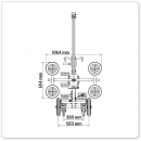 UPT250-Racelift-Technische Zeichnung Abmessung