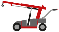Industry lifter Industrylifter Industrie worker Lasthaken heben versetzen