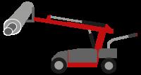 Industrie Walzenwechsler Rollenwechsler Wechselwagen Rolle Walze